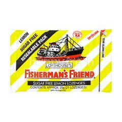 Lofthouse's Fisherman's Friend Sugar Free Lemon Lozenges