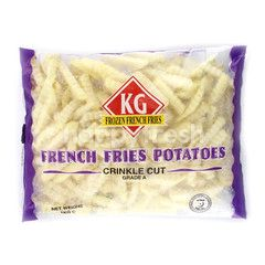 Kg Frozen French Fries French Fries Potatoes Crinkle Cut