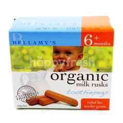 BELLAMY'S Organic Milk Rusks Toothiepegs