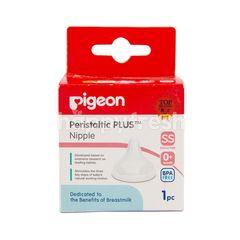 Pigeon Peristaltic Plus Nipple 0+ Months SS