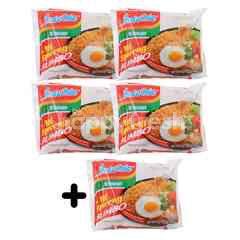 Indomie 5 Pieces Jumbo Instant Fried Noodles