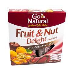 GO NATURAL Buah-Buahan dan Kacang