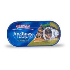 Princes Filet Ikan Teri dalam Minyak Zaitun