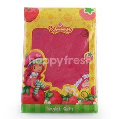 GT Man Kids Strawberry Shortcake Girls Singlet Size M Pink