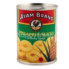 Ayam Brand Potongan Nanas dalam Sirup Pekat