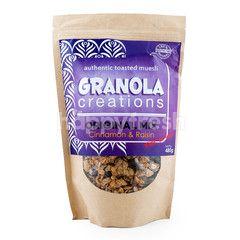 Granola Creations Original Mix Authentic Toasted Muesli Cinnamon & Raisins