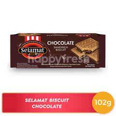 Selamat Original Biskuit Lapis Krim Cokelat