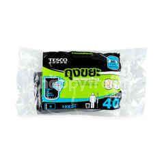 """Tesco Garbage Bag 18"""" X 20"""" 40 Pcs"""