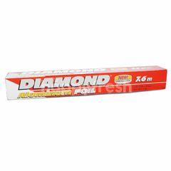 Diamond Alumunium Foil 7.62m x 30.4cm