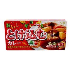 Spice & Herb Torokeru Oishisa Tokekomu Curry Amakuchi