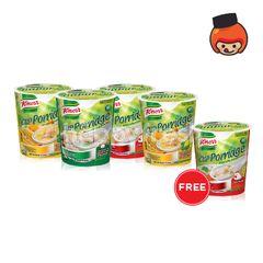 Knorr Assorted Porridge Cups Instant Food
