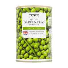 Tesco British Garden Peas