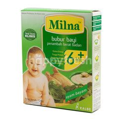 Milna Baby Porridge with Spinach and Chicken Flavor