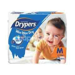 Drypers Wee Wee Dry Mega Pack Diapers M74
