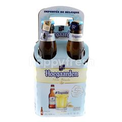 Hoegaarden White Blanche Beer (4 x 330ml)