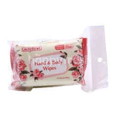 Lady First Hand & Body Wipes (3 Packets)
