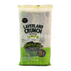 Manjun Laverland Wasabi Flavoured Korean Seaweed (3 Pieces)