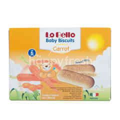 Lo Bello Baby Biscuits Carrot