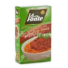 La Fonte Pronto Spageti dengan Saus Bolognese