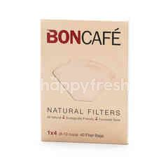 Boncafe Coffee Natural Filter (40 Filter Bags)