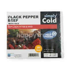 Simply Cold Black Pepper Beef with Rice