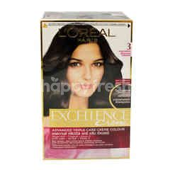 L'Oreal Natural Dark Brown Excellent Hair Colour (No.3)