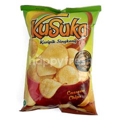 Kusuka Cassava Chips Chicken Black Pepper Flavor