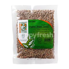 RADIANT WHOLE FOOD Organic Green Lentil