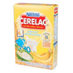 ซีรีแล็ค สูตรข้าวสาลีผสมกล้วยบดและนม