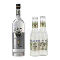 Beluga Vodka 700ml + 1 x Fever Tree Ginger Beer