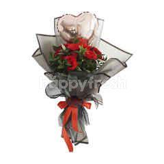 Emme Florist Red Love Me Valentine