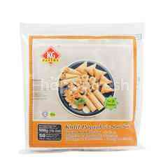 Kg Pastry Spring Roll Pastry 190X190Mm (50 Sheets)