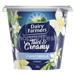 Diary Farmers Thick & Creamy Classic Vanilla Flavoured Yoghurt
