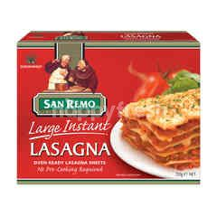 San Remo Large Instant Lasagna