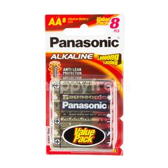 Panasonic AA Long Lasting Alkaline Batteries