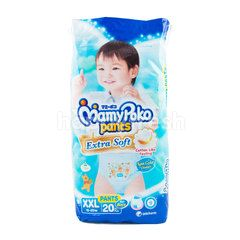 Mamy Poko Extra Soft Baby Boy Pants Diaper Size XXL (20 Pieces)