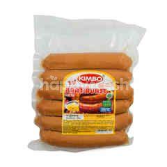 Kimbo Cheese Bratwurst Sausage