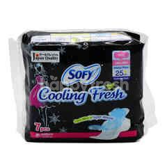 Sofy Cooling Fresh Ultra Slim Sanitary Pad (7 Pieces)