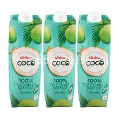 มาลี โคโค่ น้ำมะพร้าว 100% 1 ลิตร (แพ็ค)