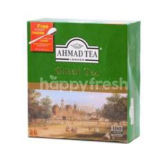Ahmad Tea London Green Tea (100 Tea Bags)