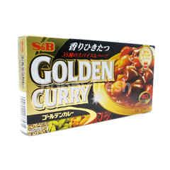 S&B Golden Curry Sauce Hot