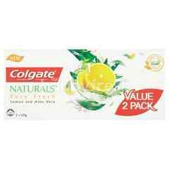 Colgate New Naturals Pure Fresh Toothpaste (2 Packs)