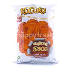 Kusuka Balado Cassava Chips