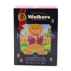 Walkers Mini Gingerbread Men Shortbread Biscuits