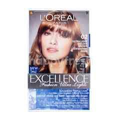 L'Oreal Excellence Fashion Ultra Lights Pewarna Rambut 02 Coklat Emas Terang