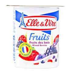 Elle & Vire Fruits Mixed Berries Yogurt