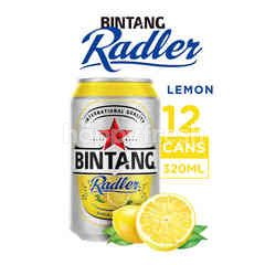 Bintang Radler Bir Rasa Lemon Kaleng 12 Packs