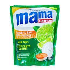 Mama Lemon Sabun Pencuci Piring Ekstra Besih dengan Ekstrak Jeruk Nipis