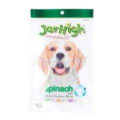 Jer High Spinach Sticks