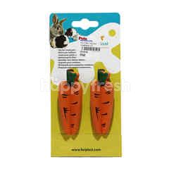 Ferplast Coloured Vegetable Toy (2 Pieces)